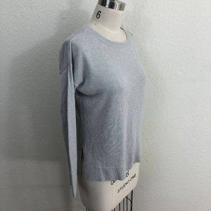 Lululemon Well Being Sweater Estimated Sz S Gray